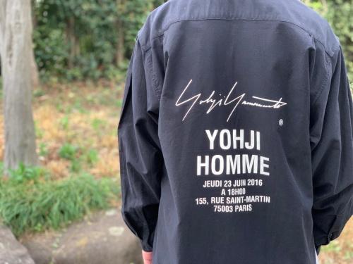 ドメスティックブランドのYohji Yamamoto Pour Homme