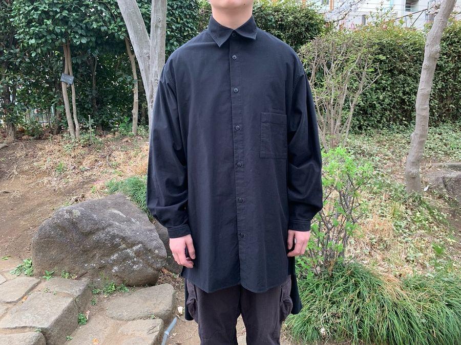 ヨウジヤマモトプールオムのH-スタッフシャツ