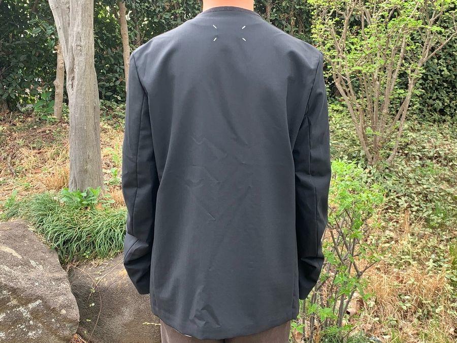 メゾン マルジェラ 10のカラーレスジャケット