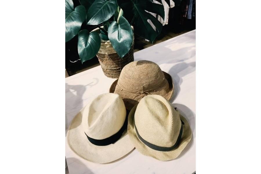 ストローハット、パナマハット、ラフィアハットなどの違いは?!夏物帽子の買取徹底強化中!【トレファクスタイル川越店】