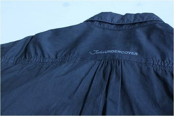 夏でもモードに。UNDERCOVER/アンダーカバー縮絨ロングシャツ入荷!【トレファクスタイル川越店】