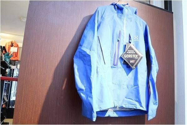 Gore-Tex Pro Shell を使用した機能性に富んだマウンテンジャケット HAGLOFS (ホグロフス) 入荷致しました。【古着買取トレファクスタイル川越店】