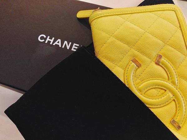 CHANEL(シャネル )のビッグココマーク ラウンドファスナー長財布 が入荷しました