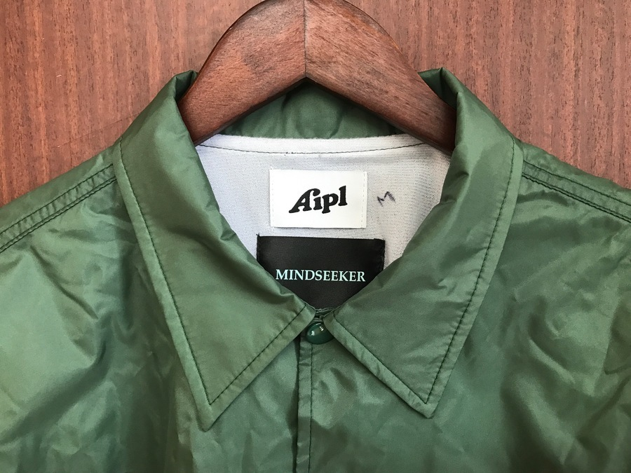 【MINDSEEKER×AIPL】ストリートファッションの必須アイテム、『コーチジャケット』
