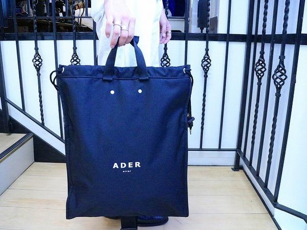 激レア【ADER error / Shopper Backpack 】が入荷しました。
