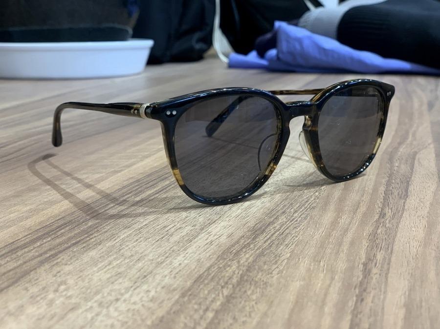 サングラスの眼鏡