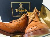 Tricker's/トリッカーズ カントリーブーツ待望入荷!