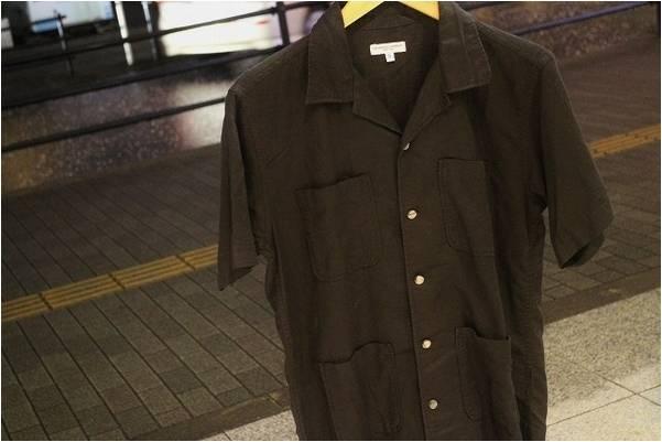 「橋本のオープンカラーシャツ 」
