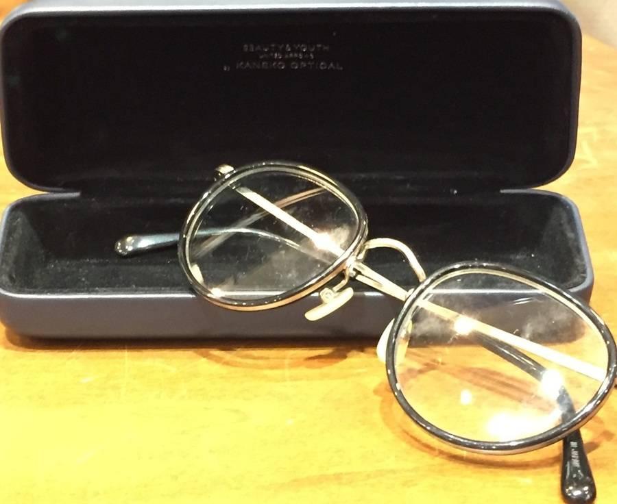 「ビューティ&ユースの金子眼鏡 」