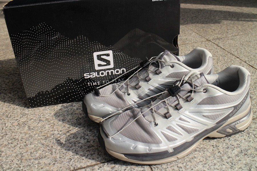 「スニーカーのSALOMON ADVANCED 」