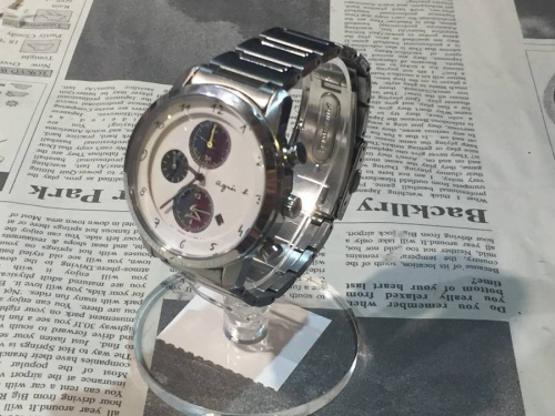 腕時計のアニエスベー