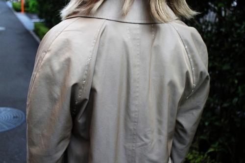 ケイスケカンダのステンカラーコート
