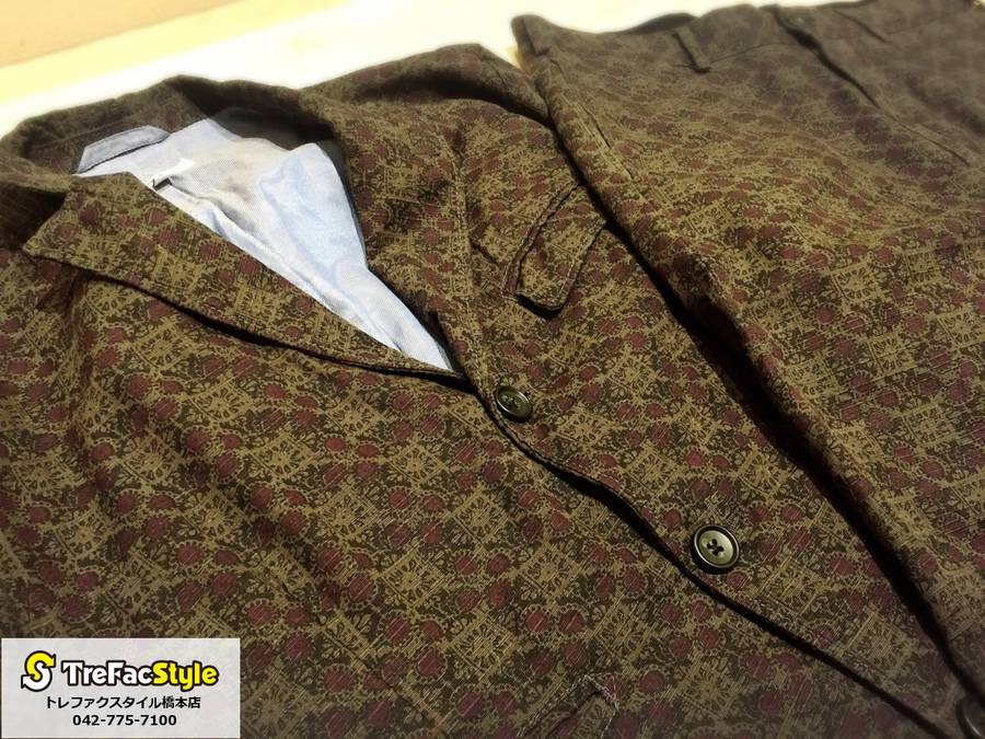 Engineered Garmentsより雰囲気抜群のジャケット、パンツが入荷しました。【古着買取トレファクスタイル橋本店】
