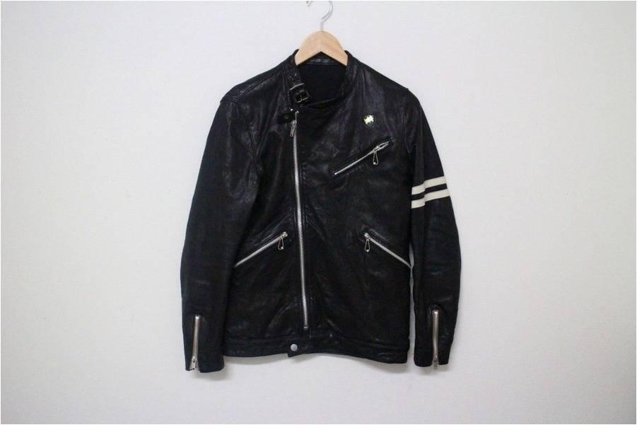 「ライダースのレザージャケット 」