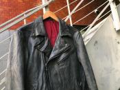 洗練されたシンプルなデザイン、ATTACHMENT  ゴートレザージャケット入荷致しました。