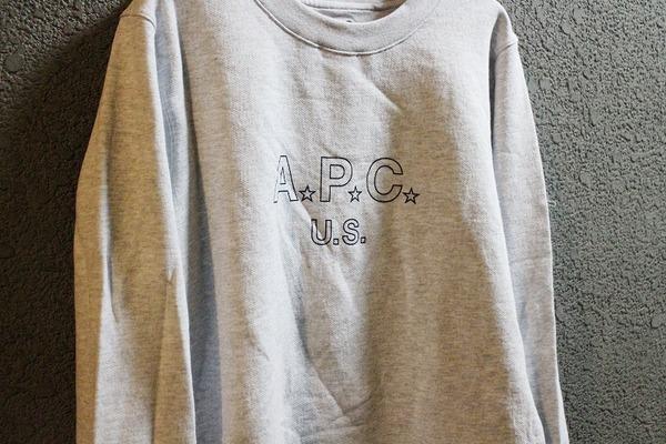「ナチュラルブランドのAPC 」