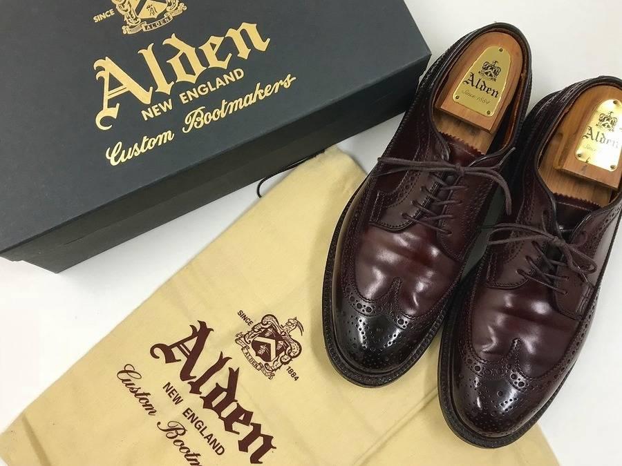 クラシックな一足◎〈ALDEN/オールデン〉