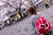 【marimekko/マリメッコ】ウニッコリュックサックでお花見へ!