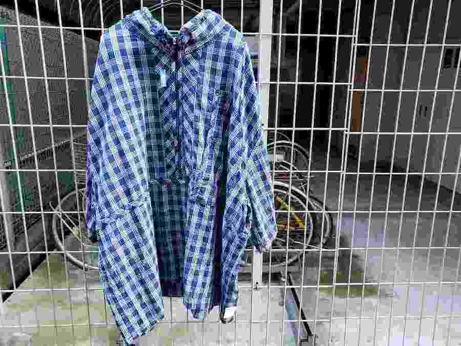 19SS PALAKA ZIP UP SHIRT【PORTER CLASSIC/ポータークラシック】