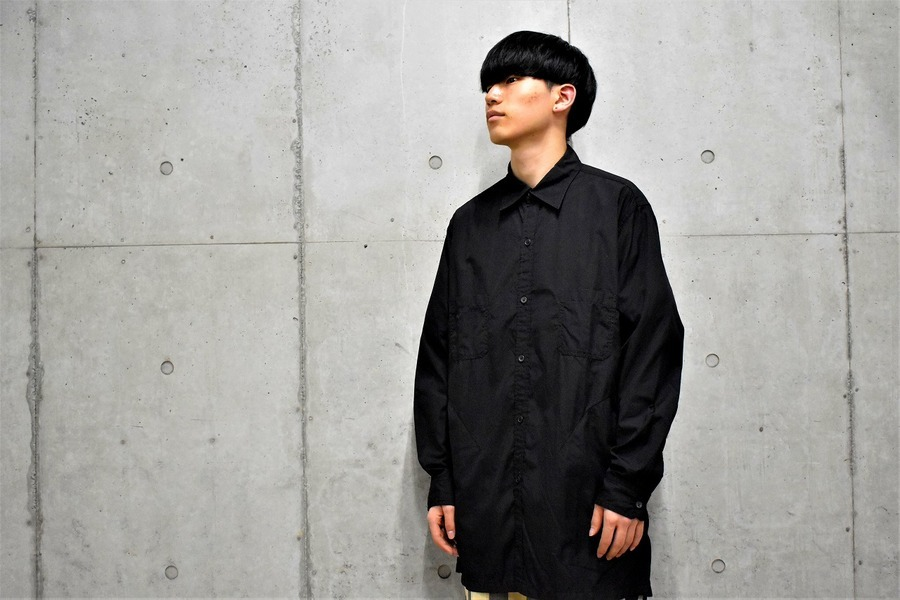 THE SHOP YOHJI YAMAMOTOでも話題ですね。ヨウジヤマモトの定番還縫いシャツ入荷