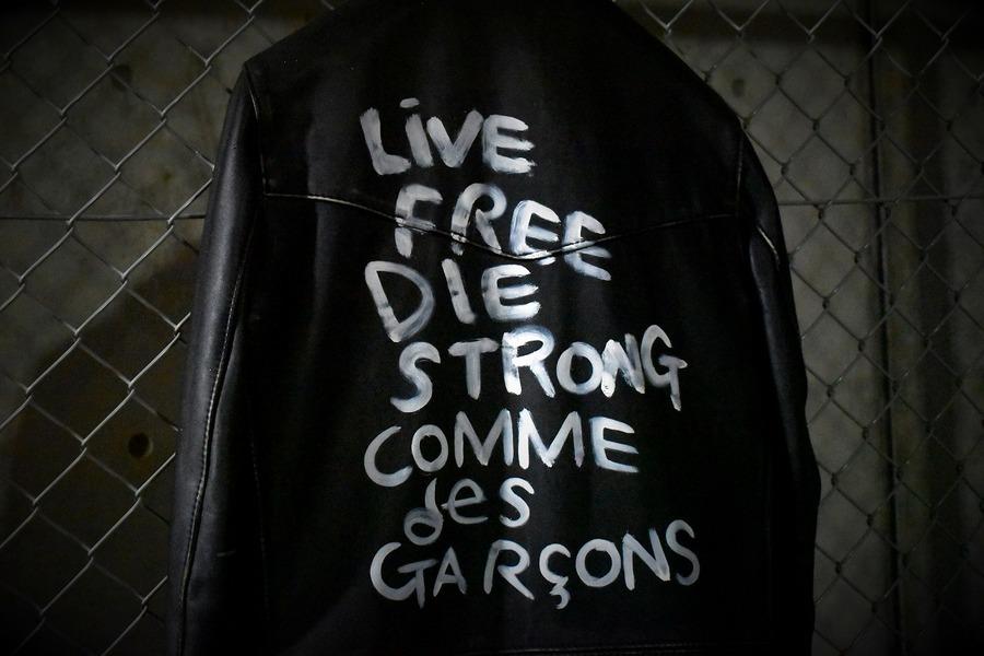 「レアアイテムのcomme des garcons 」