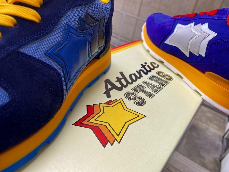 「スニーカーのAtlanstic STARS 」