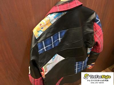 SEVESKIG (セヴシグ)のレザージャケット