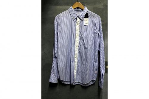 イッセイミヤケのストライプシャツ