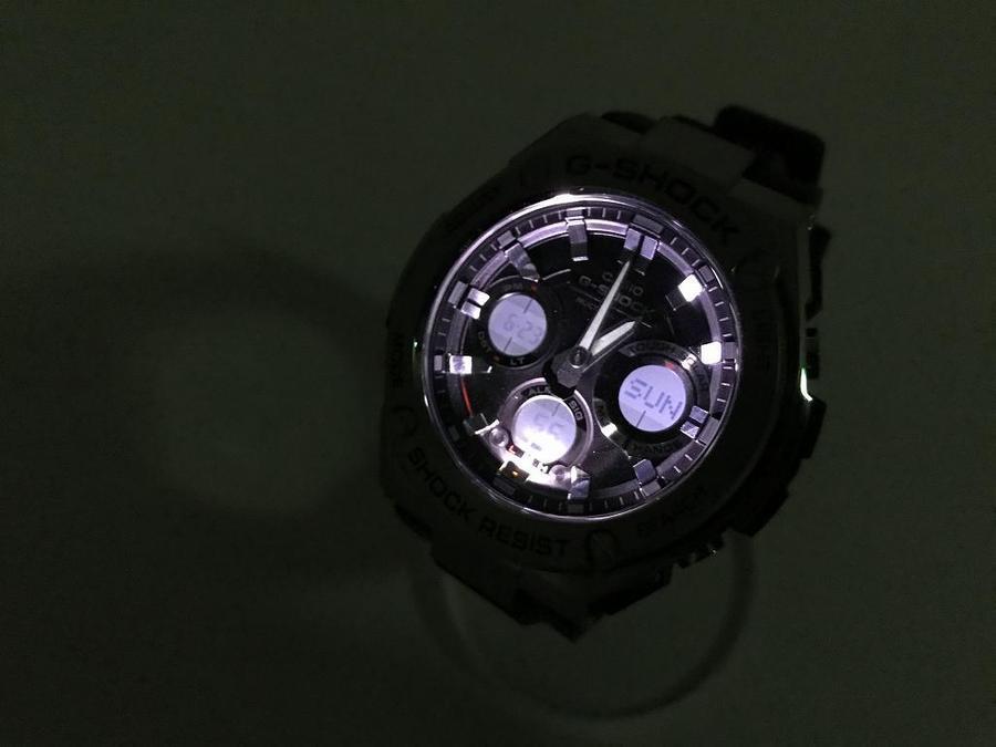 カシオ ジースティールの腕時計