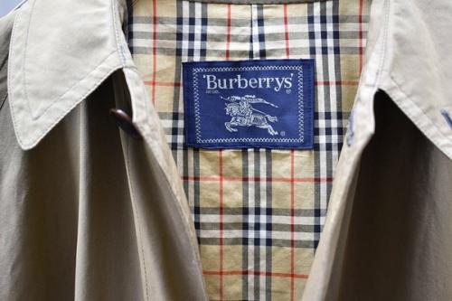 ヴィンテージアイテムのburberry's