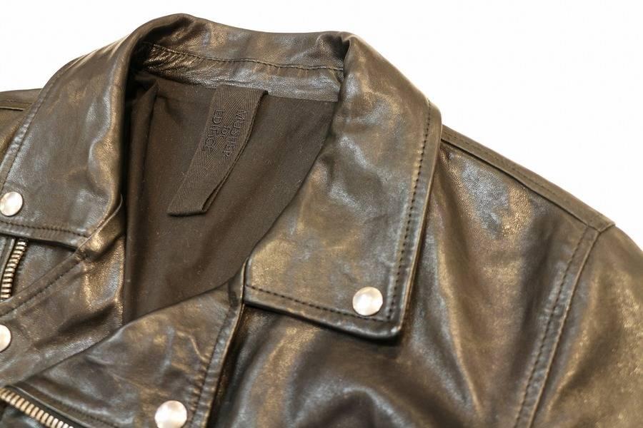 【MUSHER/マーシャーfor EDIFICE】/春にオススメの軽量レザージャケット入荷です。【トレファクスタイル厚木店】