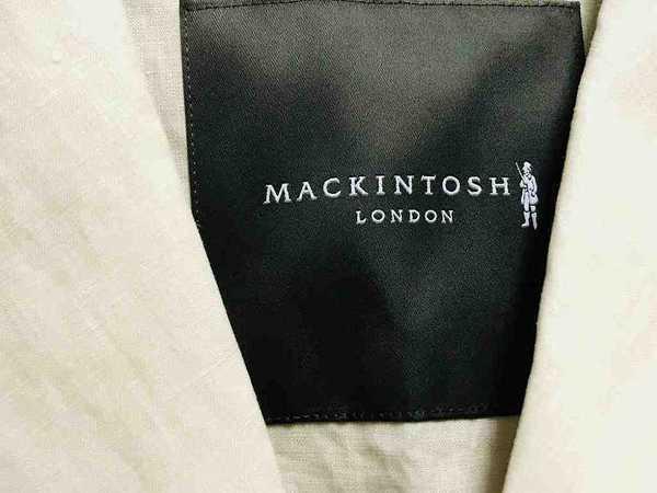 【MACKINTOSH LONDON/マッキントッシュロンドン】リネンレースコート入荷!!