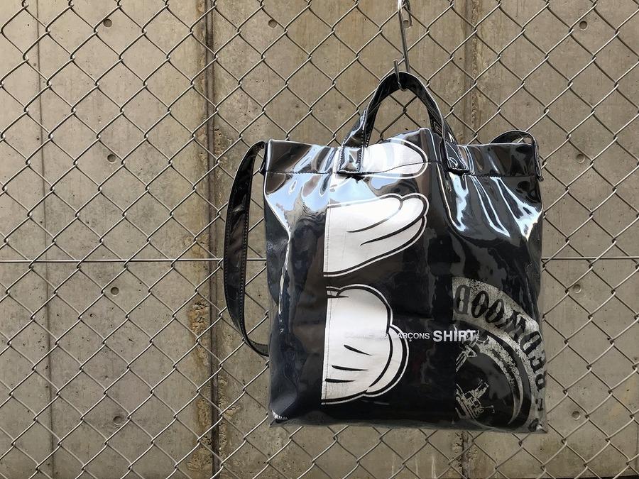 【COMME des GARCONS SHIRT/コムデギャルソンシャツ】PVCバッグ入荷