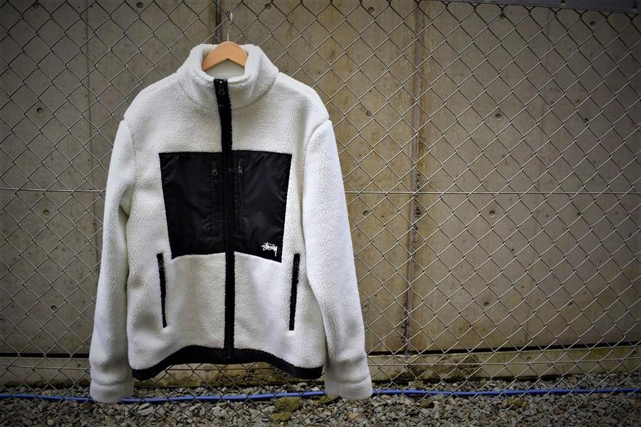 【stussy/ステューシー】のシェルパフリースジャケット
