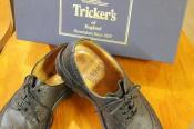 【入荷速報】Trickers/トリッカーズ メダリオンシューズ