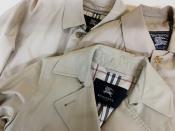 古着の定番人気コートといったらこのチェック。BURBERRY(バーバリー)コート入荷しております!!