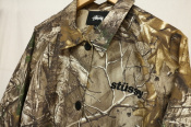 【stussy(ステューシー)】Real Tree Long Coat 215083C 入荷!