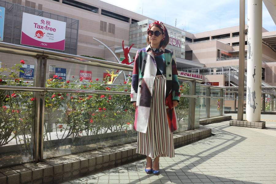 「八千代の70'Sファッション 」
