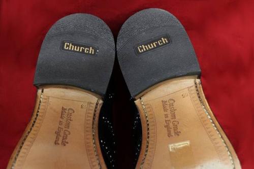CHURCH'Sのビジネスシューズ