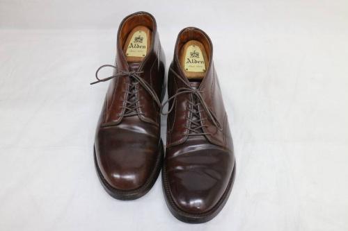 革靴のALDEN