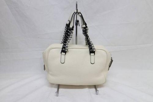 エトロのレザーハンドバッグ