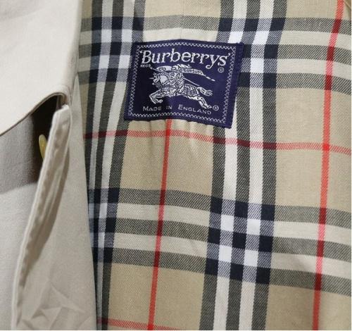 買取案内のBURBERRY