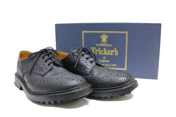 Trickers(トリッカーズ)メダリオンシューズ入荷!!