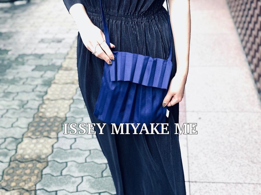 ISSEY MIYAKE me/イッセイミヤケミーよりショルダーバッグのご紹介です!!