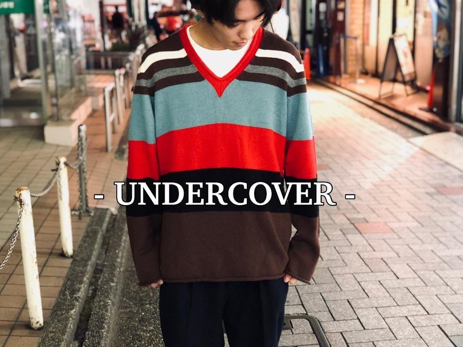 UNDERCOVER/アンダーカバーよりSTRIPED SWEATERのご紹介です!![オンラインストアにて絶賛販売中]