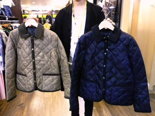 「マッキントッシュQのキルティングジャケット 」