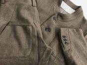 【soft tweed overlap&soft tweed crease cut】multiple core/マルチプルコアよりデザイン性100点!!素材感100点!!セットアップが入荷しました。