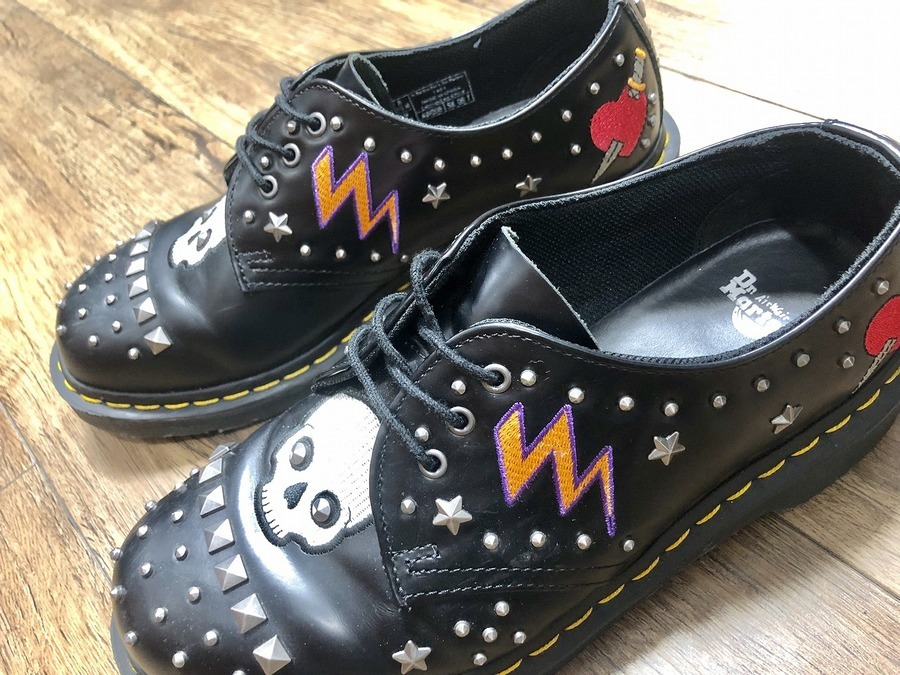 Dr.Martensより ROCKABILLY 3EYE SHOES 入荷。