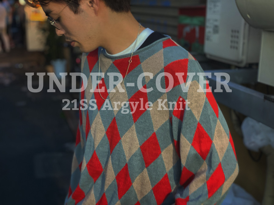 「ストリートブランドのUNDER COVER 」