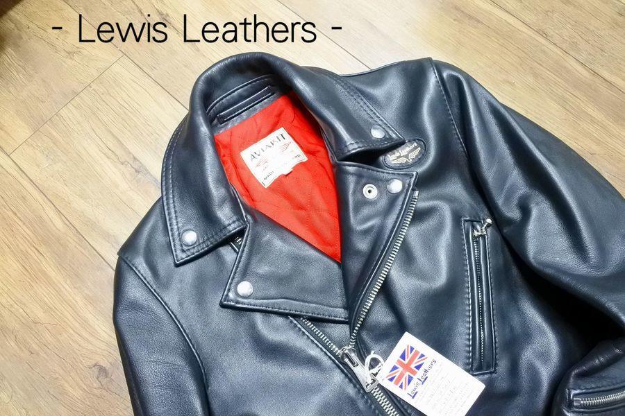 「サイクロンのLewis Leathers 」